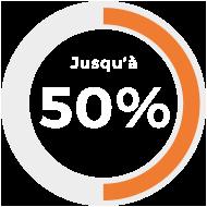 50-pourcent