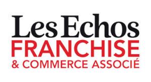 Logo Journal Les Echos Franchise & Commerce Associé