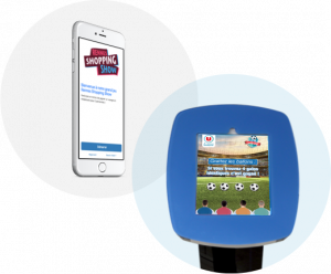 Collecte et animation sur borne tablette ou sur téléphone mobile