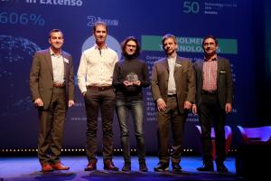 Remise du prix Deloitte Technology Fast 50