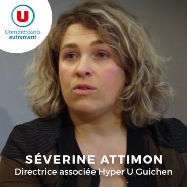 Séverine Attimon, directrice associée Hyper U Guichen