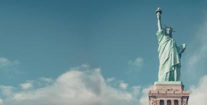 Photographie de la statue de la liberté