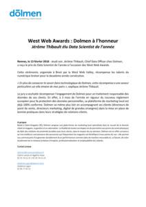 Communique-Presse-Jerome-Thibault-Best-Data-Scientist-2018-West-Web-Awards