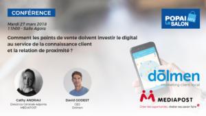 Conférence de David Godest au salon MPV 2018 : Comment les points de vente doivent investir le digital au service de la connaissance client et la relation de proximité ?