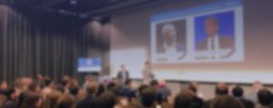 Salle comble pour la conférence RetMo au sujet du marketing mobile et de la connaissance client