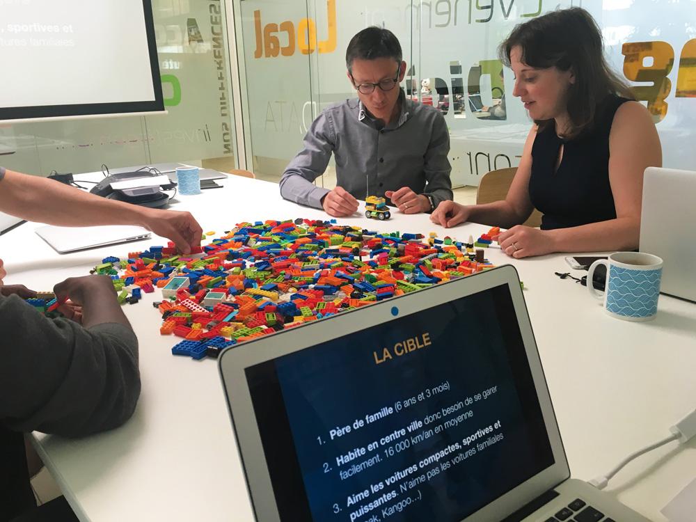 L'atelier typologie client permet de concevoir un produit par cycle itératif et de l'améliorer sans réduire à néant les efforts consentis précédemment