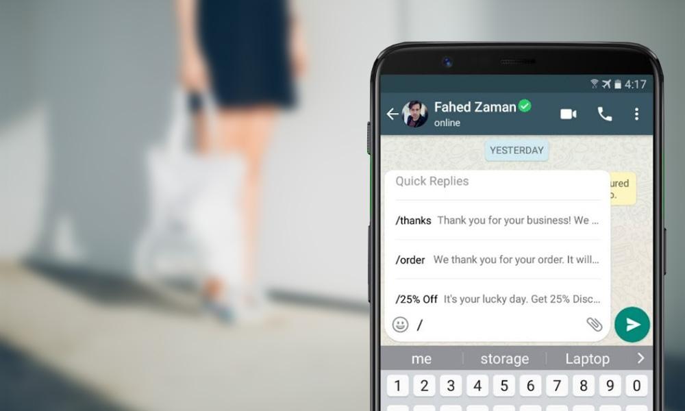 service client whatsapp