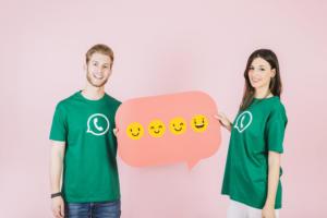 whatsapp connaissance client