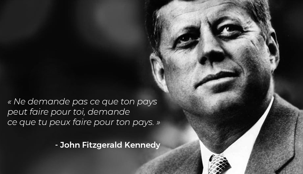 citation john fitzgerald kennedy