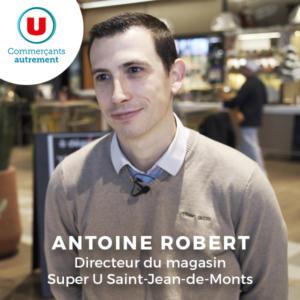 Antoine Robert directeur super u saint jean de monts