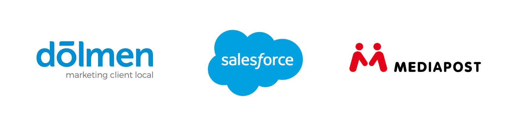 partenariat dolmen salesforce mediapost